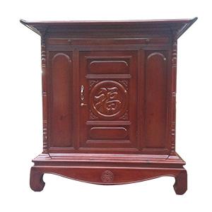 Mẫu tủ thờ bình dân ĐẸP - Hợp mệnh gia chủ với đủ kích thước Lỗ Ban