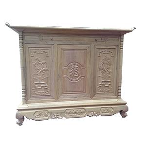 Mẫu tủ thờ gỗ dổi bán chạy nhất trên thị trường