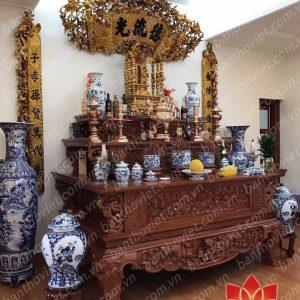 Địa chỉ cung cấp tủ thờ Đồng Kỵ chất lượng chạm khắc tinh xảo