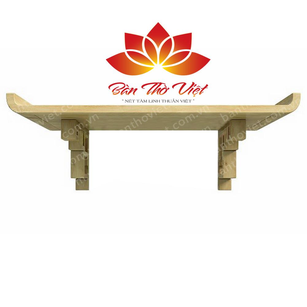 Mẫu bàn thờ treo tường giá rẻ tại Hà Nội mã 05 giá 3.500.000đ