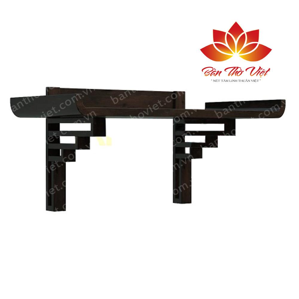 Bàn thờ treo tường gỗ gụ Giá Rẻ - Hợp mệnh gia chủ mới nhất 2018