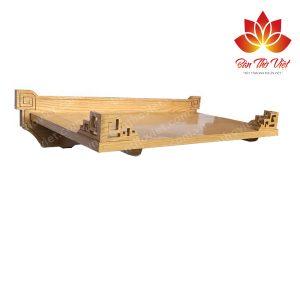 Mẫu sản phẩm bàn thờ treo tường gỗ pơ mu tại Sập thờ Việt