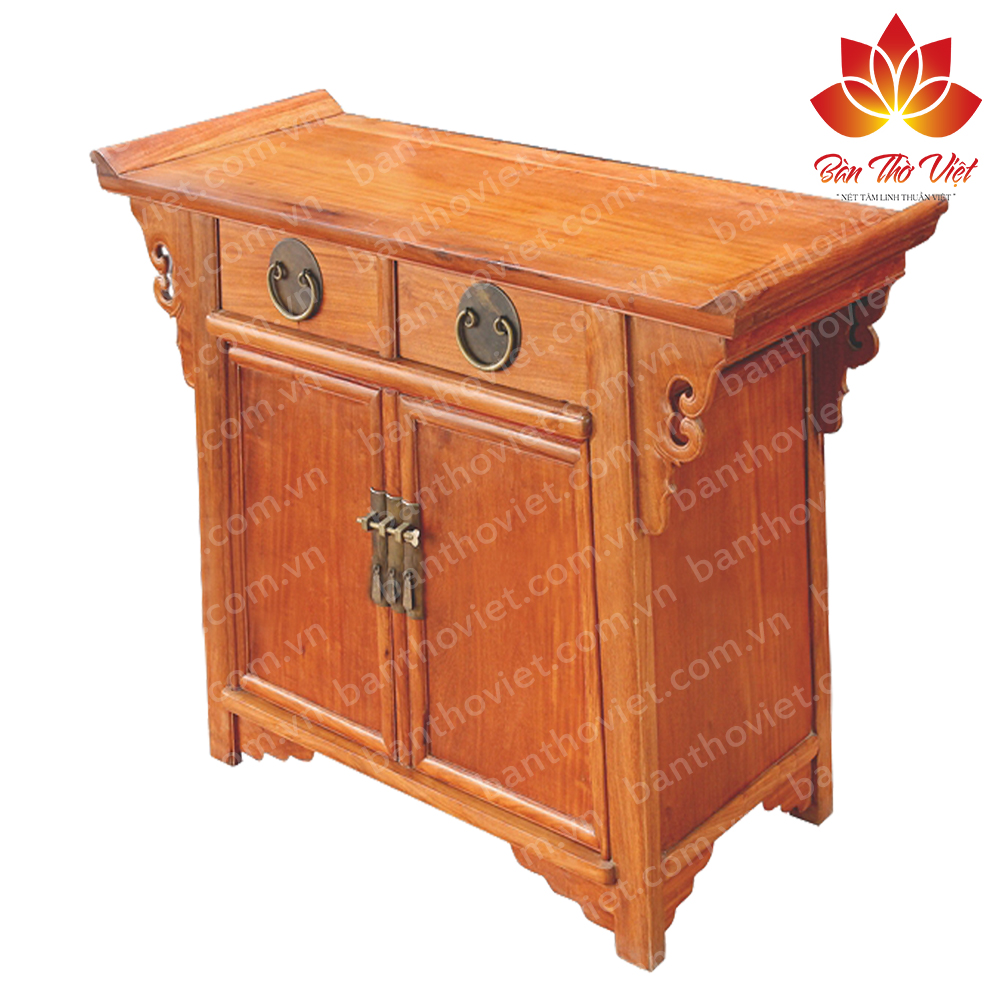Địa chỉ bán, sản xuất tủ thờ gỗ Hương Uy Tín - Giá rẻ tại Hà Nội