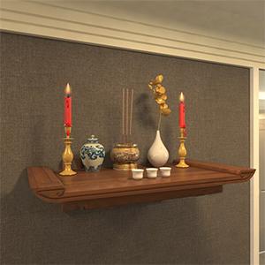 Tiện ích khi mua bàn thờ treo tường hiện đại cho phòng khách