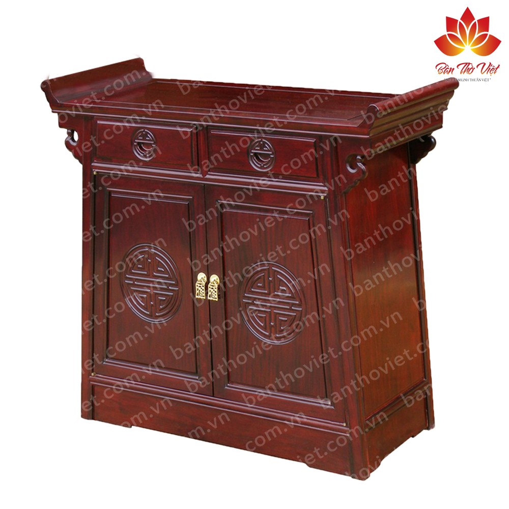 Tủ thờ gỗ mít - Tuyển tập những mẫu tủ thờ gỗ đẹp, giá rẻ năm 2020