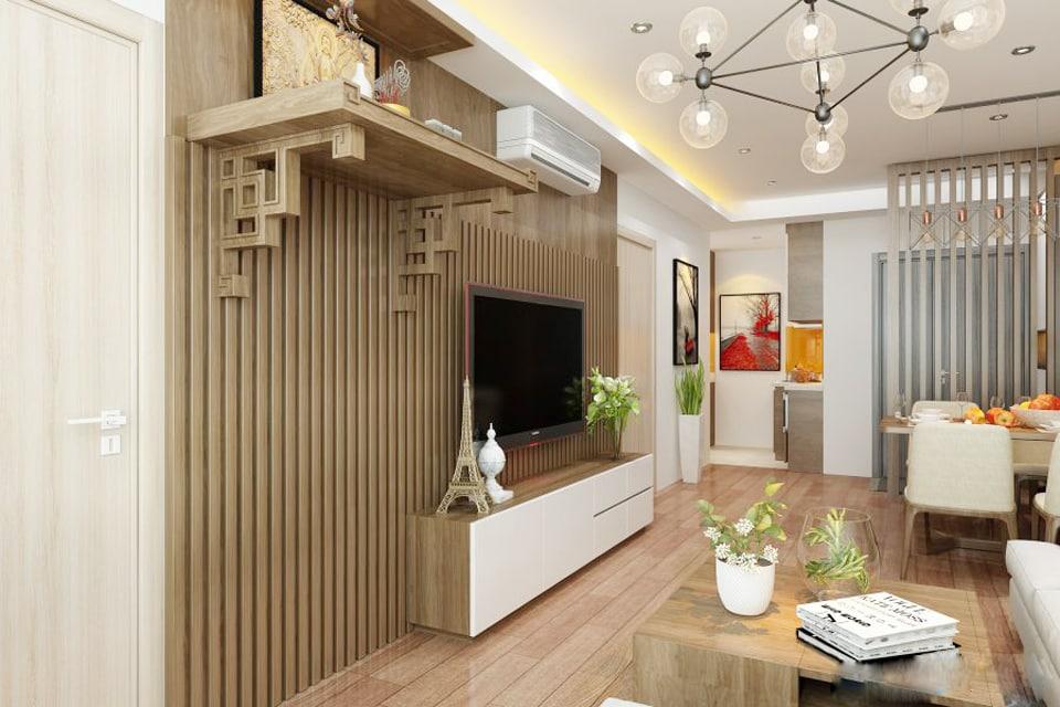 Cách chọn kích thước bàn thờ Phật treo tường CHUẨN nhất và hợp phong thủy