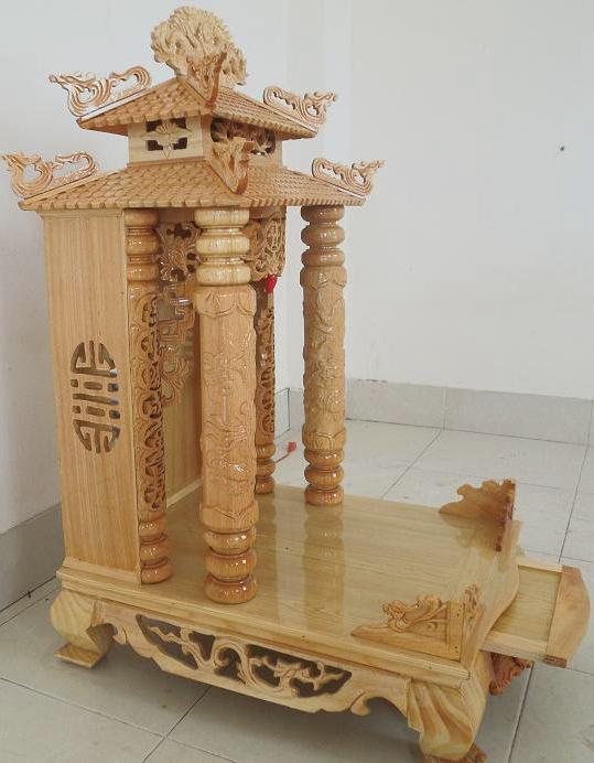 Một số mẫu bàn thờ thần tài hót nhất 2019