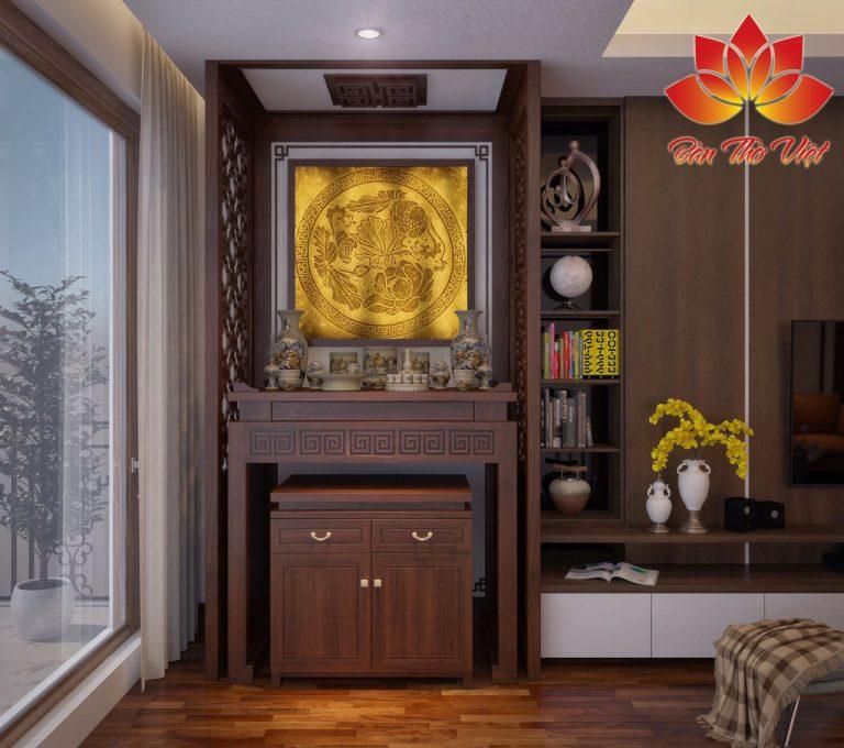 Đặc điểm và những ưu điểm không thể bỏ qua của tủ thờ phòng khách